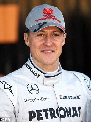 Recovering: Michael Schumacher could recover from his brain injury within three years, says a doctor who treated him just after his ski accident