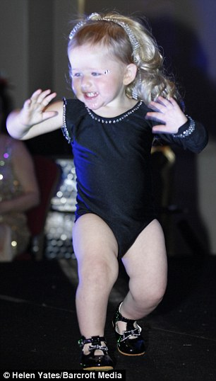 She dances to Beyonce's 'Single Ladies' at pageants