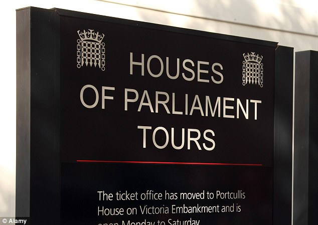High alert: MPs have called for House of Commons tours to be restricted after the attack in Canada