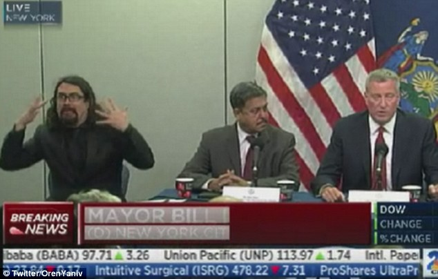 Mystery Sign Language Interpreter For Ebola Conference