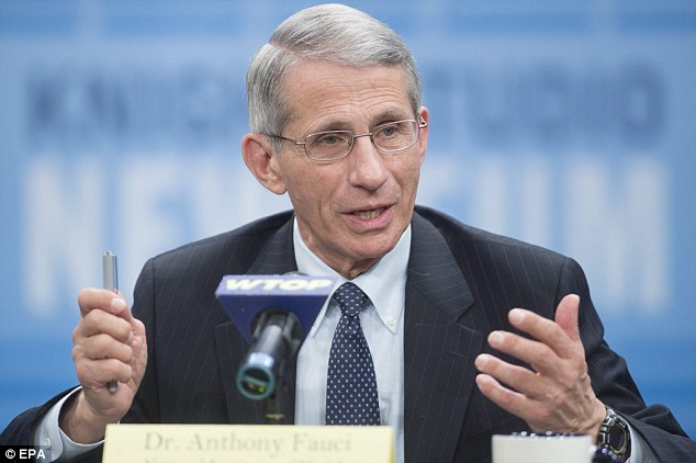 Anthony Fauci, director of the National Institute of Allergy and Infectious Disease, says mandatory 21-day quarantines are 'a little bit draconian'