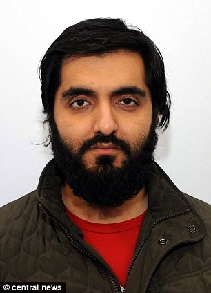 Terror case: Science teacherJamshed Javeed, 30, has admitted two Syria-related terror offences revealed to police after a row with his family