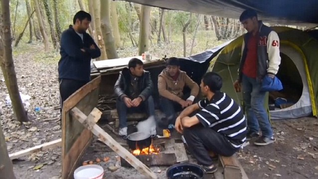 calais muslim singles Three britons leaving calais found themselves driving through what looked like a war zone.