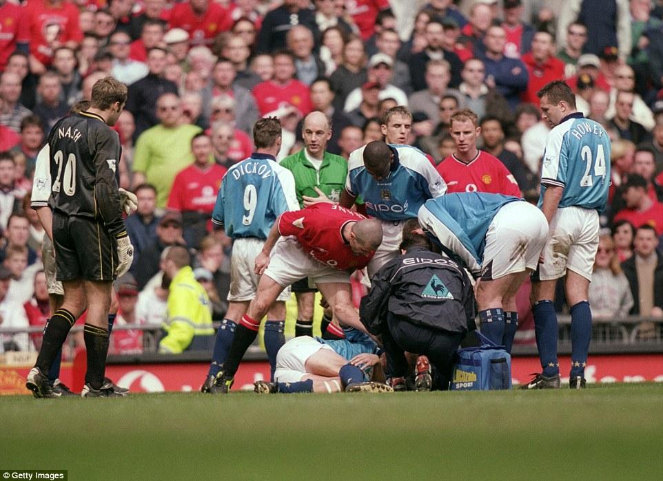 """eric cantona was a brilliant player. Manchester City v Manchester United - Sir Alex Ferguson ..."