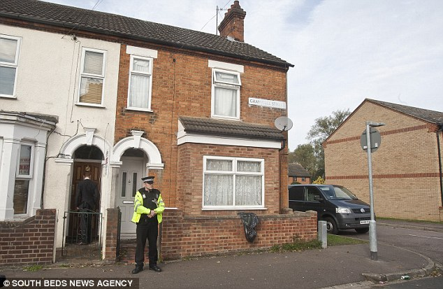 The arrest comes after a raid in Bedford (pictured) last week, which was also linked to Syria