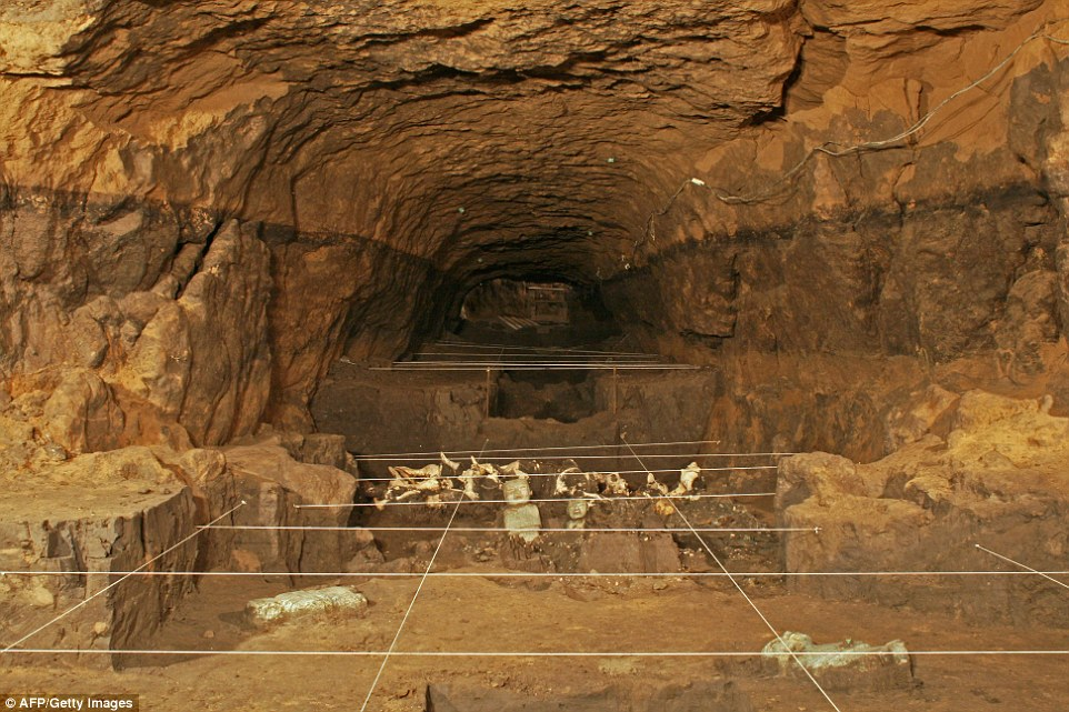 Filled With Artifacts Ancient Mexican Tunnel May Lead To