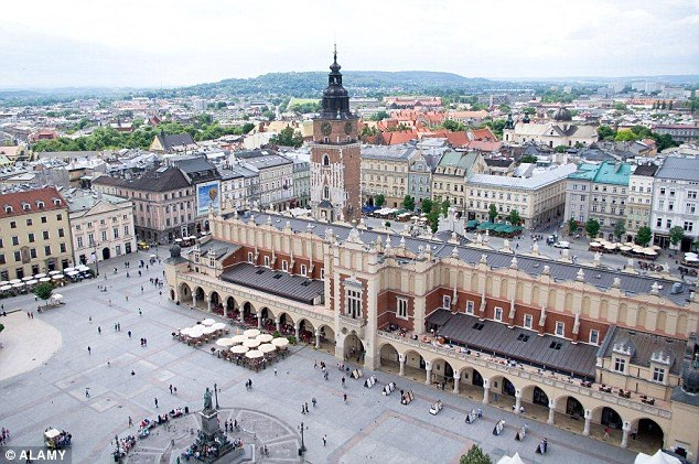 Krakow in Poland has come top in a poll conducted by consumer magazine Which? who asked readers to rate their favourite European city outside of the UK