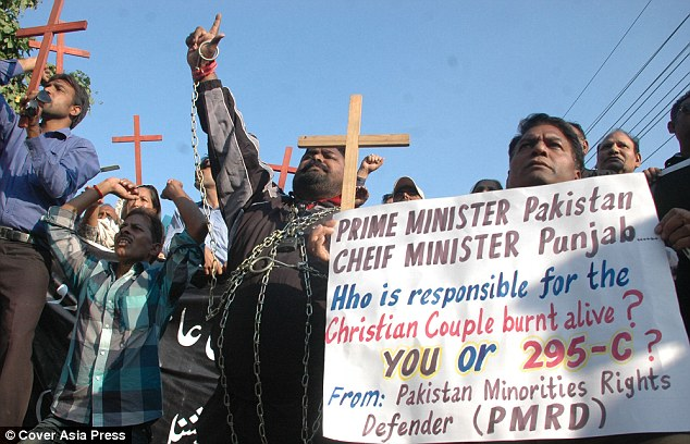 After the deaths Christian campaigners called on politicians to ensure justice was done