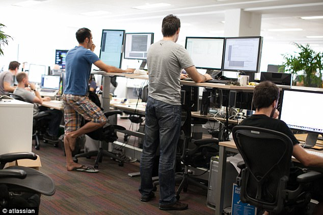 Software company Atlassian was named Australia's best place to work in a national survey of 28,000 workers