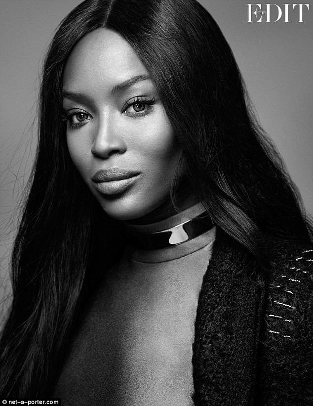 Internationally renowned: Along with Kate Moss, Naomi Campbell is without a doubt one of the fashion industry's most famous faces and at 44, she's still going strong