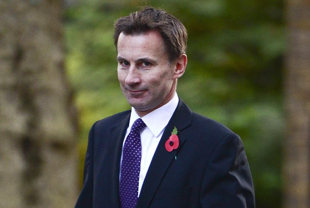 Health Secretary Jeremy Hunt is expected to announce details of the change in law next month, with the ban expected to come into force in October 2015