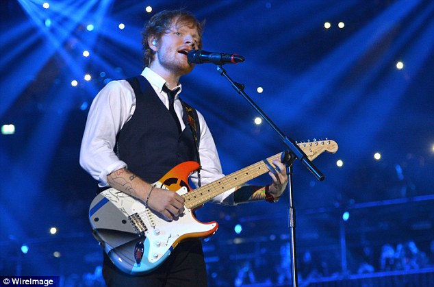 Image result for ed sheeran concert