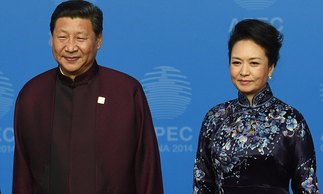 Lady Peng Liyuan Tells Husband Chinese Leader Xi Jinping