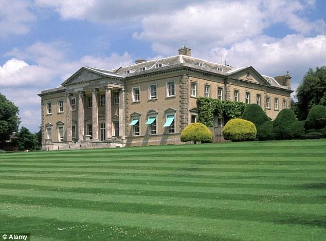 He is set to inherit Broadlands - the 60-room Palladian mansion where the Queen began her honeymoon