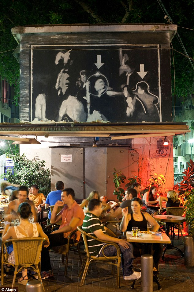 Florentin, Tel Aviv: The hip suburb has been filled with coffeehouses, bars, and art galleries over the past decade