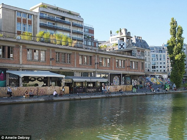 Canal St Martin, Paris: The district was given a revival after it featured as the setting for 2001 film, Amelie