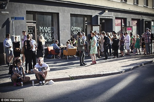 Kallio, Helsinki: 'The place where poor workers used to live and which artists, students and hipsters have since conquered'