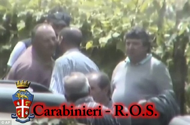 Police in Italy have captured a secret initiation ritual by Italy's most feared and powerful mafia on camera for the first time near an old farmhouse near Lake Como