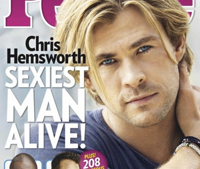Meet The Sexiest Man Alive Chris Hemsworth Was Given The Title By People Magazine On