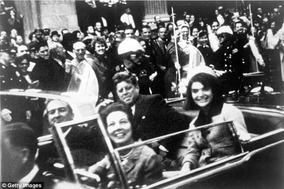 New claim, again: Files has claimed before that he was in Dallas, Texas on November 22, 1963, firing the shot that ended the life of Pres. Kennedy as he drove through on his motorcade (above)