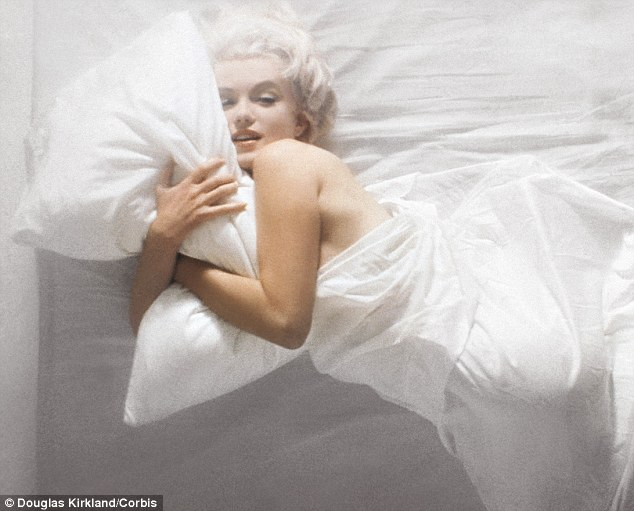 Some like it cool: Marilyn Monoe, pictured in 1961, famously said she wore only Chanel No 5 in bed.It seems the movie star might have been on to something