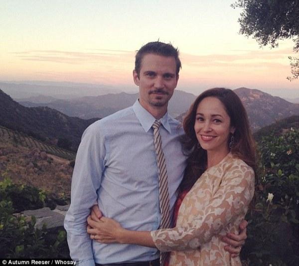 Autumn Reeser 'divorcing husband Jesse Warren'   Daily ...