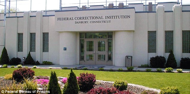 Teresa will spend up to 15 months at the federal prison in Danbury Connecticut