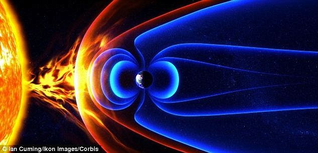 Held in place by Earth's magnetic field, the Van Allen radiation belts swell and shrink in response to incoming energy disturbances from the sun