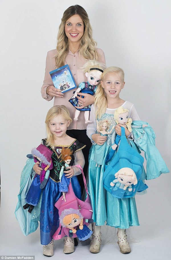 Frozen merchandise is driving parents crackers this ...