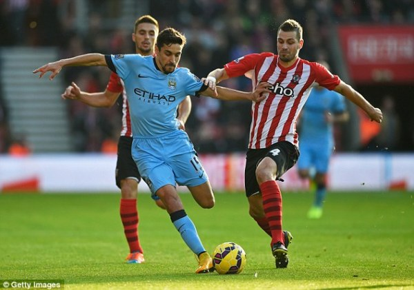 Southampton 0-3 Manchester City MATCH ZONE: Morgan ...