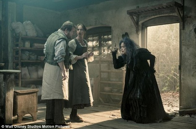 Based on Lapine and Stephen Sondheim's Tony Award–winning Broadway musical of the same name, Into the Woods also stars Meryl Streep, who plays the film's Witch