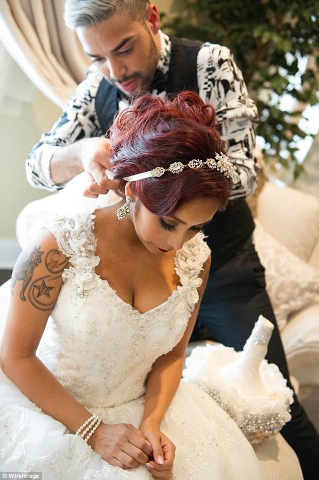Snooki And Jionni Share A Look At Their Wedding Photo