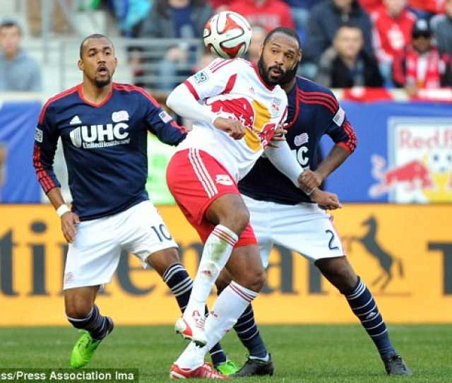 Thierry Henry Has Left New York Red Bulls And Could Return To Arsenal In A Coaching
