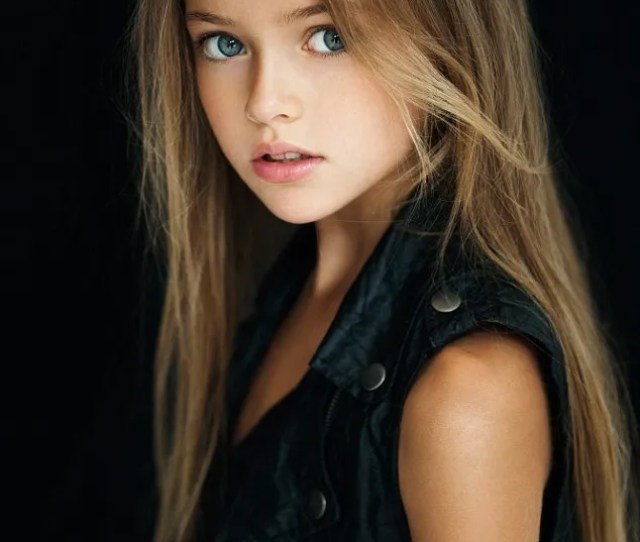 Kristina Pimenova Is Just Nine Years Old But Has Become A Worldwide Sensation After Pictures Of