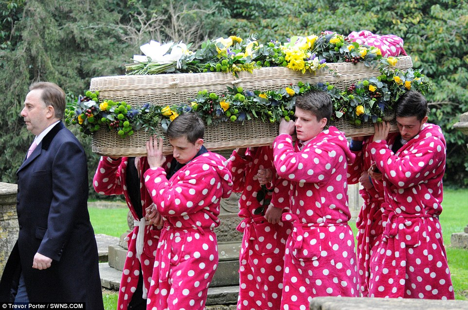 Hundreds Turn Out For Wiltshire Teen's Funeral Dressed In