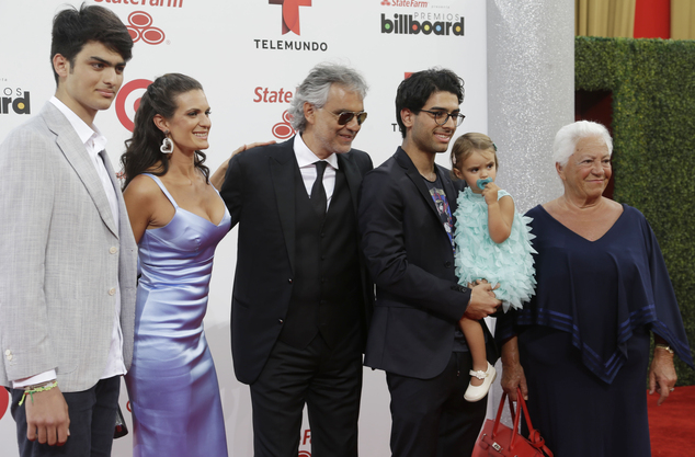 Andrea Bocelli To Kick Off US Tour In Las Vegas Daily