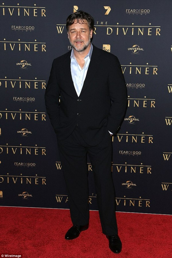 Russell Crowe turns the camera on himself promoting ...