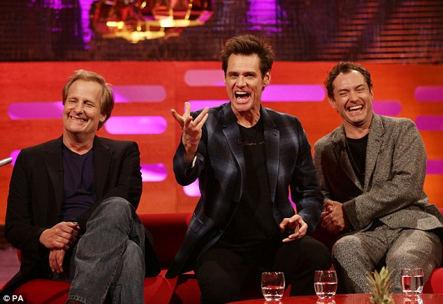 Image result for jim carrey and jude law side by side