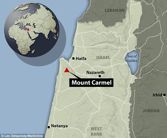 Tabun Cave at Mount Carmel in northern Israel holds evidence of early humans from up to 500,000 years ago