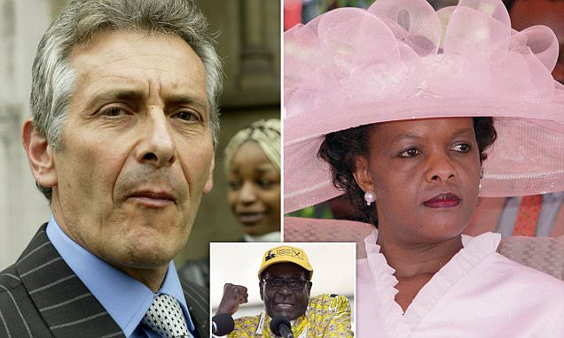 Image result for nicholas van hoogstraten and grace mugabe
