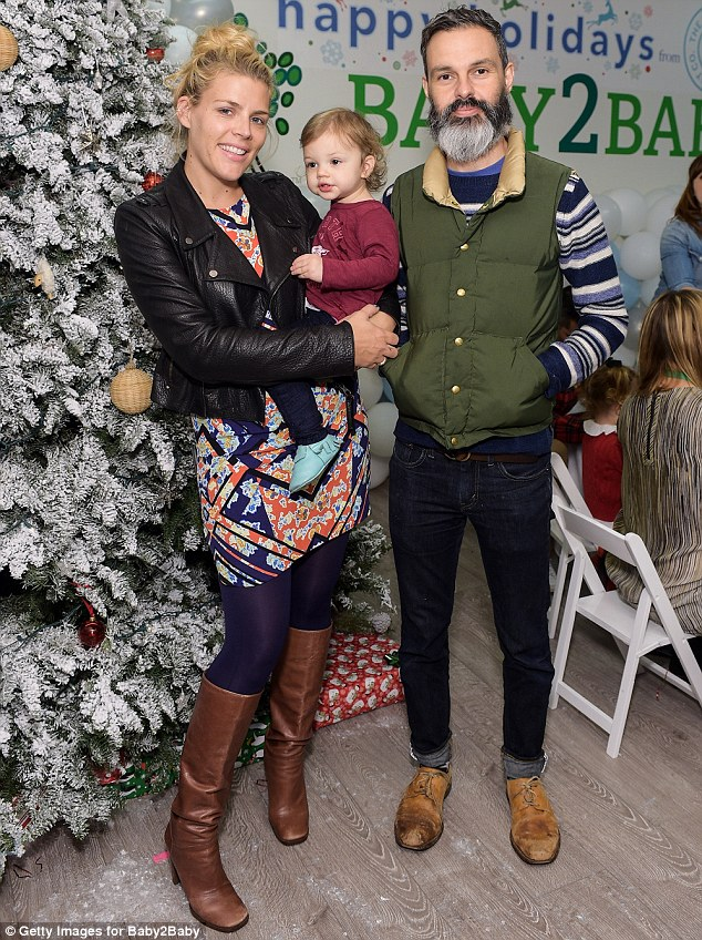 Busy Philipps With Daughter Cricket At An Early Christmas