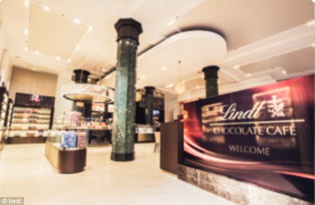 The Lindt cafe where the hostages are being held specialises in chocolate and has a number of branches across the city