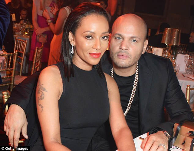 Image result for mel b and stephen belafonte