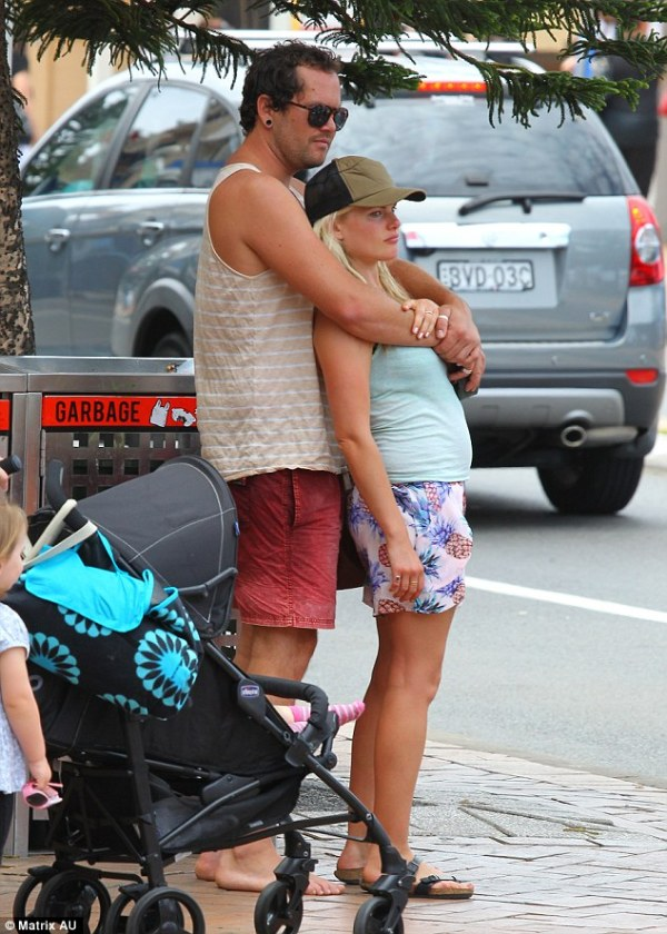 Home And Away actress Bonnie Sveen cuddles up to mystery ...