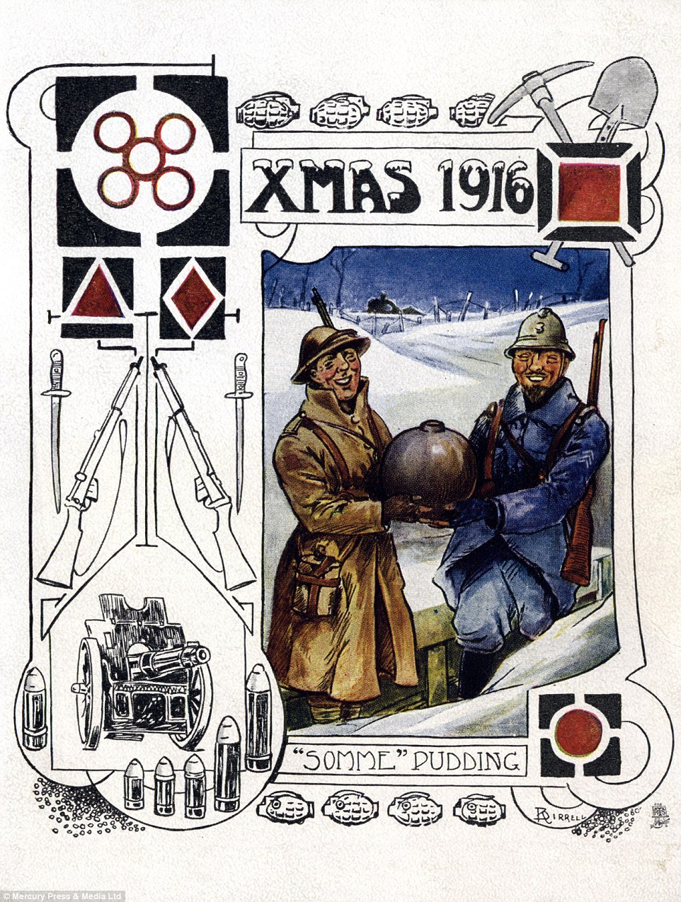 Historic Greetings Cards Give A Glimpse Of Life On The WWI