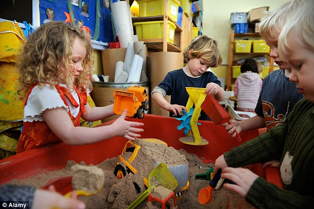 The National Institute for Clinical Excellence, which sets national standards for healthcare, says 'drug treatment is not recommended for pre-school children with ADHD'. File photo
