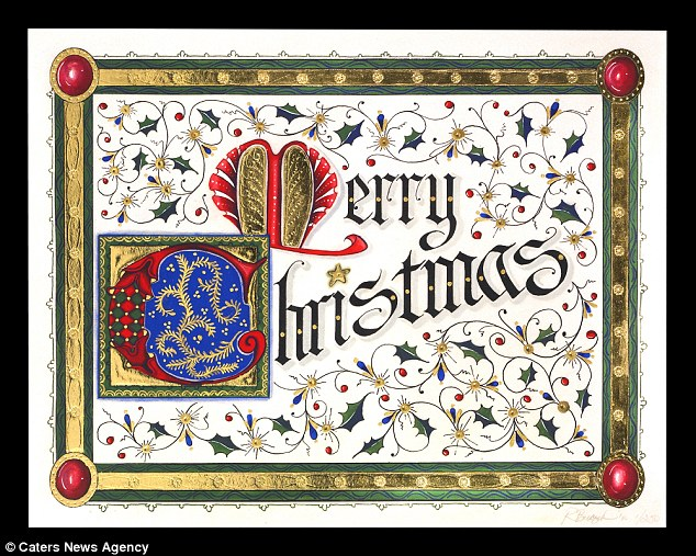 Gilded Age Greetings Sells Christmas Cards Decorated With