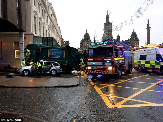 In a statement, Scotland's First Minister Nicola Sturgeon described the tragedy as 'another sad day for Glasgow and Scotland'