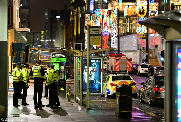 Superintendent for Road Policing Division Stewart Carle said he estimated the bin lorry continued for roughly 300m along the pavement after striking the first pedestrian