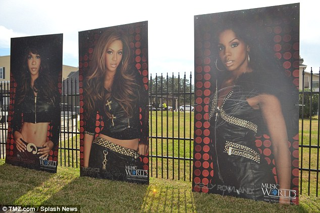 Fandom: The 63-year-old former managerunloaded tons of posters, DVDs, tour T-shirts and various other mementos from Beyonce's early singing years from when she was in the successful band Destiny's Child
